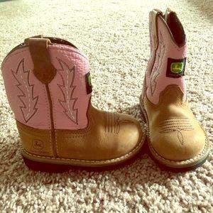 Toddler Girl John Deere Boots